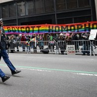 Irish LGBT Activists Protest Gay Group In New York St. Patrick's Day Parade – VIDEO