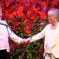 Arizona Lesbian Couple Nelda Majors, Karen Bailey Marry After 57 Years Together: VIDEO
