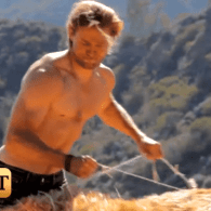 'Queer As Folk' Alum Charlie Hunnam Channels His Inner Shirtless Cowboy – VIDEO