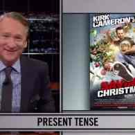 Bill Maher Takes a Crack at Kirk Cameron's 'Saving Christmas' with a Three Point Holiday Plan of His Own: VIDEO