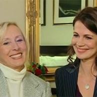 Tennis Legend Martina Navratilova Marries Long-Time-Partner: VIDEO