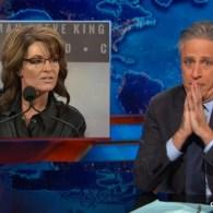 Jon Stewart Tosses the Sarah Palin Word Salad at the Iowa Wingnut Summit: VIDEO