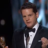 Watch 'The Imitation Game' Screenwriter Graham Moore's Moving Oscar Acceptance Speech: 'Stay Weird. Stay Different'