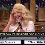 Christina Aguilera's Impression Of Britney Spears Will Blow Your Mind – VIDEO