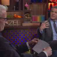 Anderson Cooper Grills Andy Cohen On If He's Ever Had Sex In the 'Watch What Happens Live!' Clubhouse: VIDEO