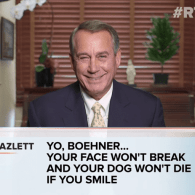 John Boehner And Nancy Pelosi Read Mean Tweets About Themselves: WATCH
