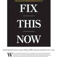 'Indianapolis Star' Front Page Demand to State Leaders: 'Fix This Now'