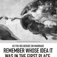 AFA Warns SCOTUS in Full Page 'Washington Post' Ad: Remember That God Invented Marriage