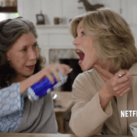 Jane Fonda and Lily Tomlin's Husbands Have Left Their Wives for Each Other in 'Grace and Frankie' – VIDEO