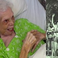 Bedridden 102-Year-Old Former Dancer Lights Up as She Sees Herself on Film for First Time: VIDEO