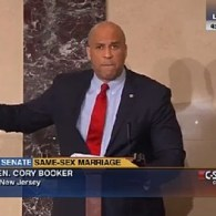 Cory Booker Delivers Searing Speech on Senate Floor Calling for Nationwide Marriage Equality: VIDEO