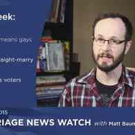 Gay Marriage News Watch: MI, KY, OH, TN – VIDEO