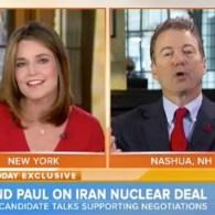 Rand Paul Tells Savannah Guthrie How She Should Do Her Job: VIDEO