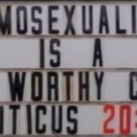 Georgia Pastor Defends Church Sign Calling for Death to Gays: VIDEO
