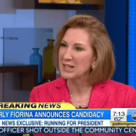 Carly Fiorina Officially Enters 2016 GOP Presidential Race: VIDEO