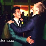 Ellen Tags Along With Gay Teen and His Straight Best Friend to See How Their Prom Date Went: VIDEO