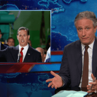 Jon Stewart Is Bummed He's Going to Miss Out on the 2016 Presidential Race 'Becoming a Fire Hazard' – VIDEO