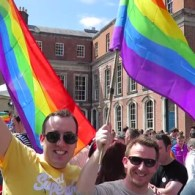 Vlogger Raymond Braun Captures Ireland's Historic YES Vote On Marriage Equality: WATCH