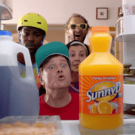 Sunny D's Latest Ad Is A Blast From The 90s Past: WATCH