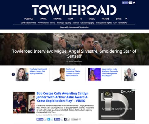Towleroad redesign