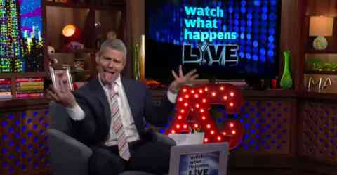 Andy Cohen Watches 'Bitch, I'm Madonna'