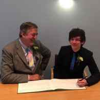 Stephen Fry's Honduran Honeymoon With Husband Elliott Spencer Ruined By Homophobic Locals