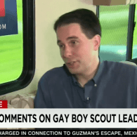 Scott Walker Not Sure If Being Gay Is a Choice, Says Wife Opposes Marriage Equality Too: VIDEO