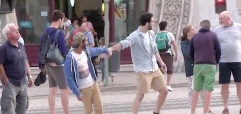 Lorenzo and Pedro in Lisbon