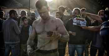 Matt Damon ripped