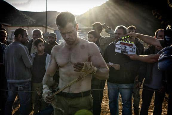 Matt Damon shirtless