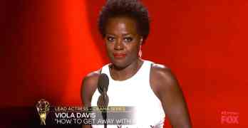 Viola Davis 2015 Emmy Awards