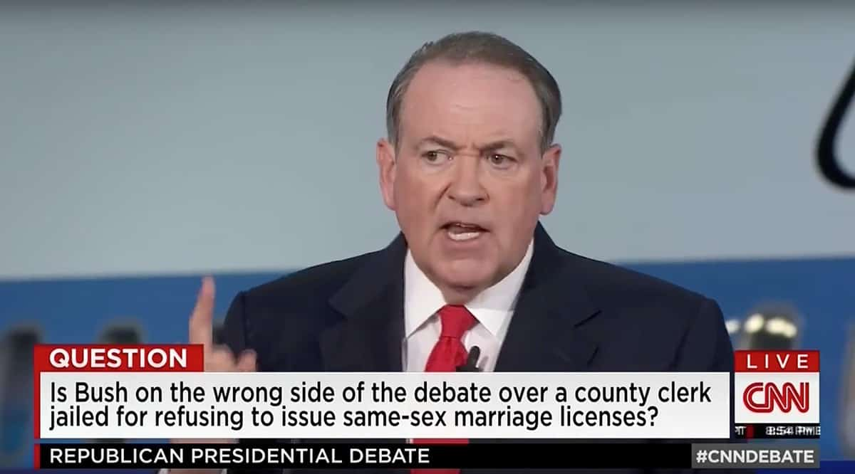 Mike Huckabee defends