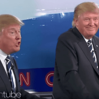 Ellen Unveils the All-Trump 2016 GOP Debate Line Up: VIDEO