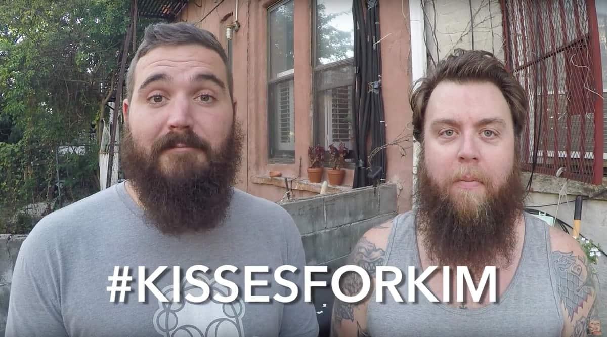 #kissesforkim