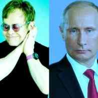 Kremlin Denies Vladimir Putin Called Elton John to Talk LGBT Equality