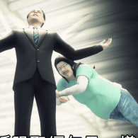 Taiwanese Animators Spoof Mike Huckabee's Love Affair with Kim Davis at the GOP Debate: WATCH