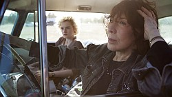 """Grandma"" starring Lily Tomlin as seen in Towleroad and ManAboutWorld gay travel magazine"