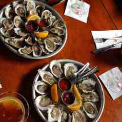 Raw Bar Happy Hour at The Red Inn.