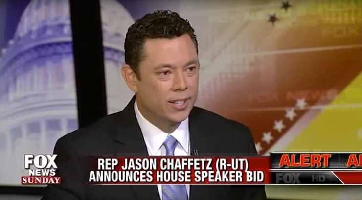 Jason Chaffetz House Speaker bid