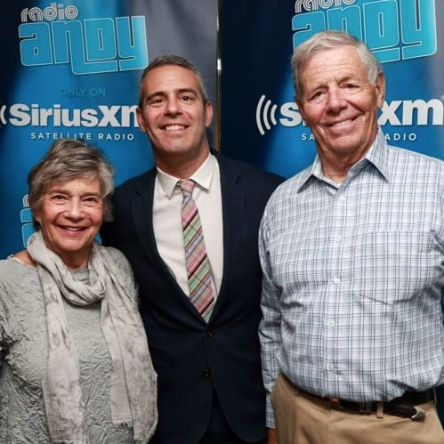 Andy Cohen parents