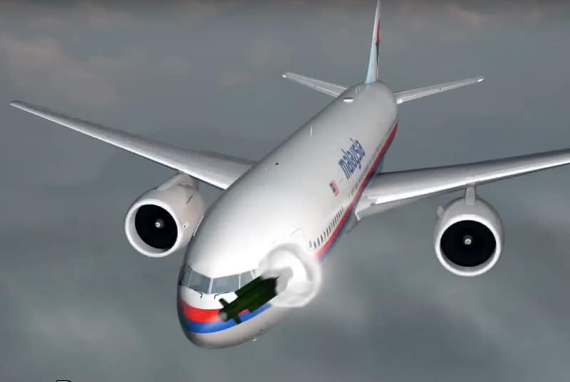 missile destroyed malaysia MH17