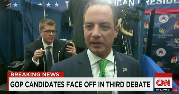 RNC Chair Reince Priebus Blasts CNBC, Moderators After GOP