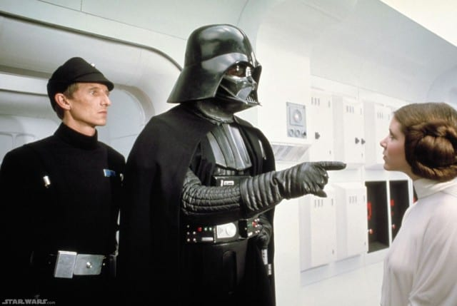 Darth Vader Princess Leia
