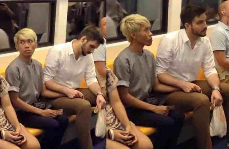interracial gay couple