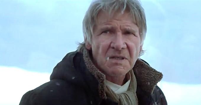Han Solo Harrison Ford Lupita Nyongo Star Wars