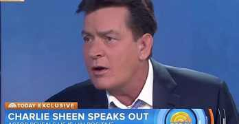 charlie sheen gay
