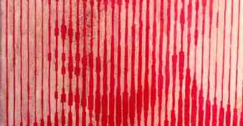 Alan Turing blood portrait