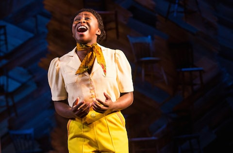 the color purple on broadway review