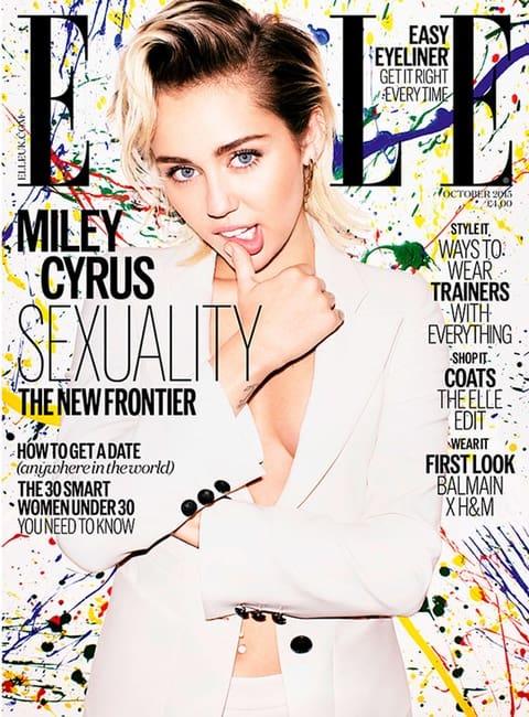 Miley Cyrus Elle