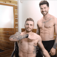 Gus Kenworthy Reveals the Uncut Truth During Shirtless Haircut with Kyle Krieger: WATCH